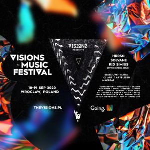 Visions Music Fest 2020 One Day Pass