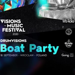 DrumVisions Boat Party / Visions Music Fest 2020