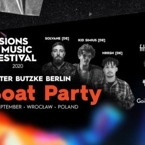 Visions Music Fest 2020 pres. Ritter Butzke Berlin on Boat & After