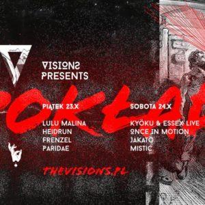 Visions 3rd Anniversary – Otwarcie Pokładu w/ Kyöku & Essex Live & Once In Motion 30.10.2020