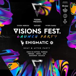 Visions Fest 2021 Launch Boat & After pres. EnigmatiC
