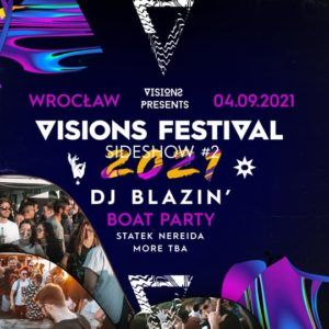 Visions Festival 21 DrumVisions Boat Party